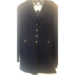 BURBERRY Single Breasted Military Style Coat